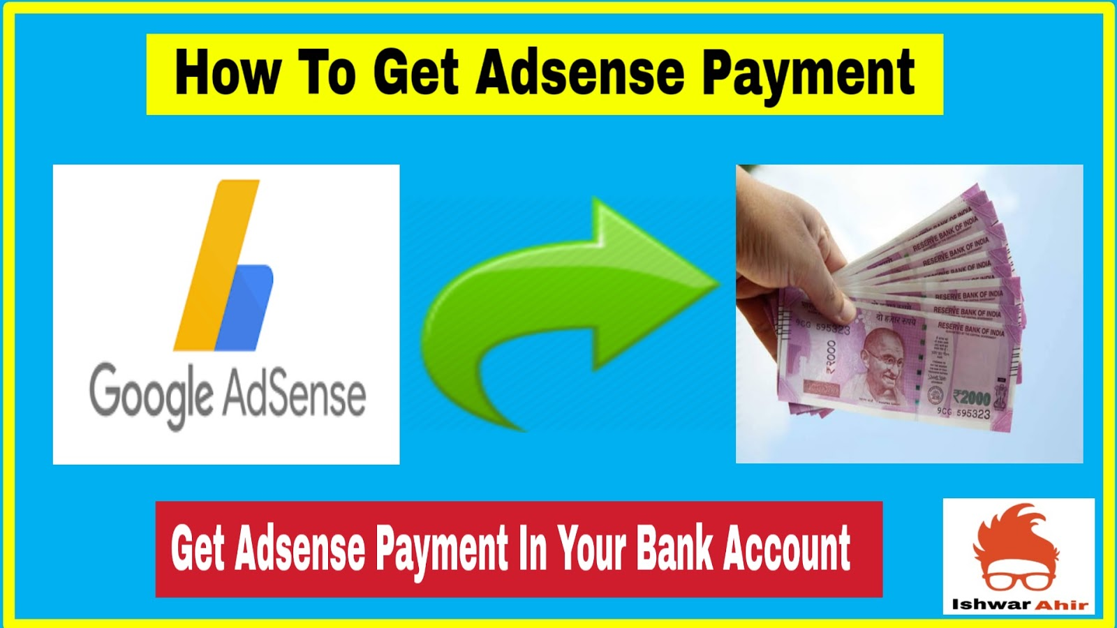 How to Get Adsense Payment