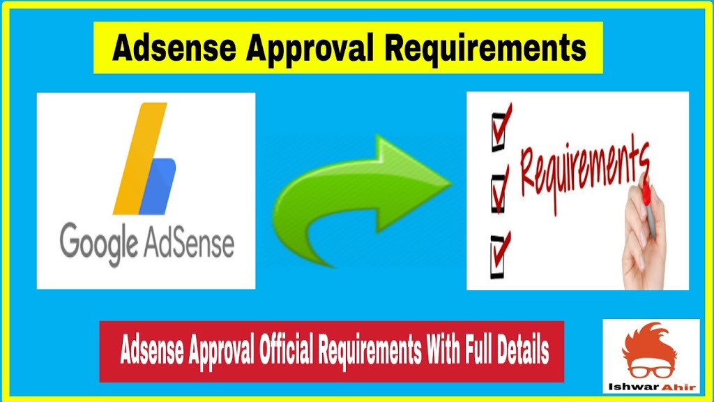 AdSense Approval Requirements