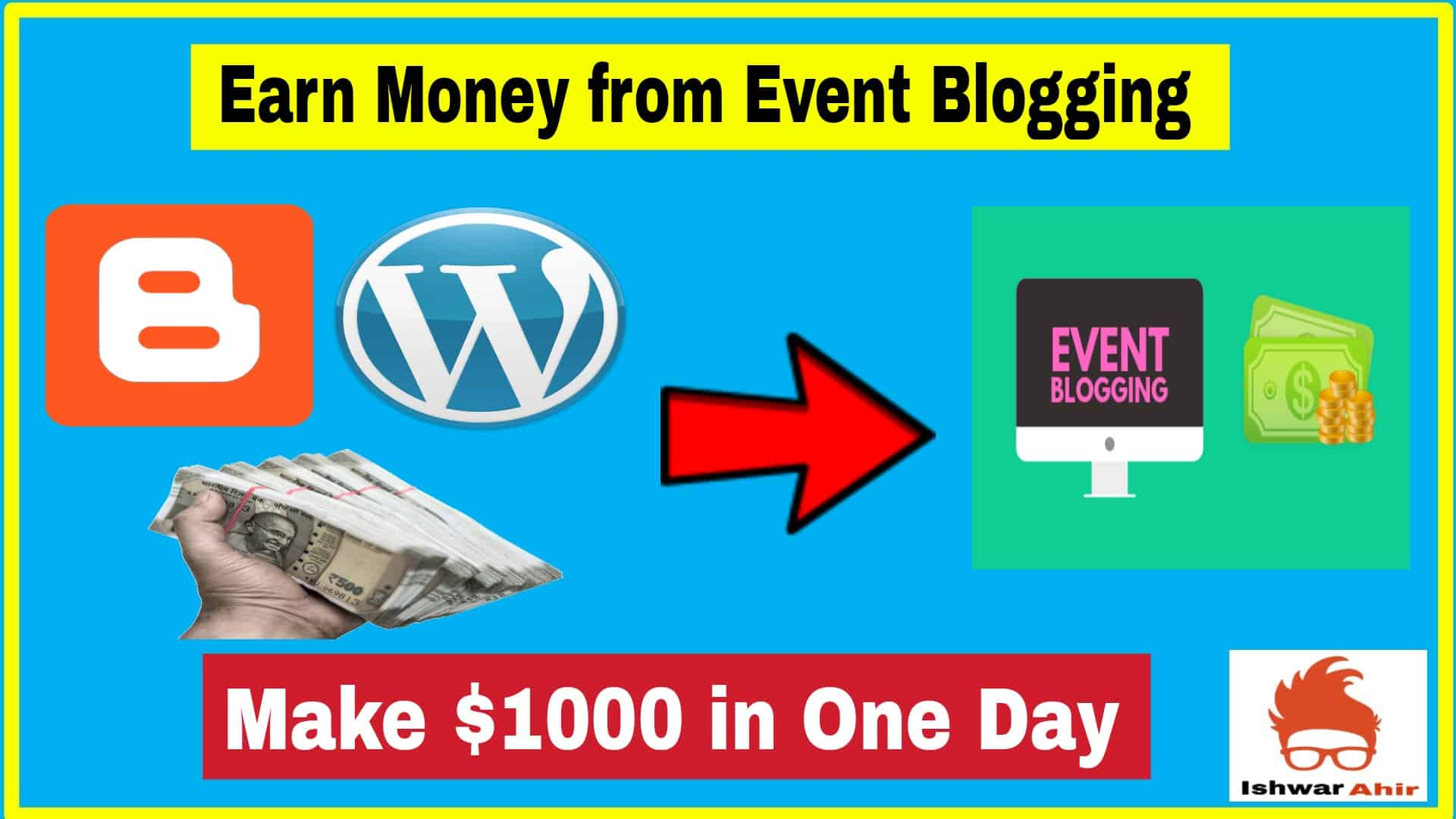 Earn Money from Event Blogging